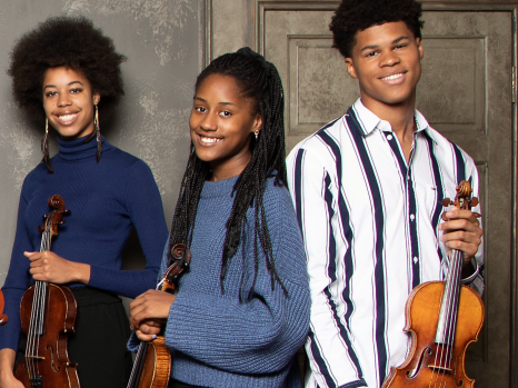 Kanya, Aminata and Braimah Kanneh-Mason